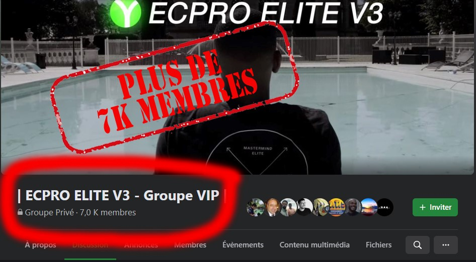 Yomi Denzel Groupe Facebook Coaching support ECPRO ELITE V3