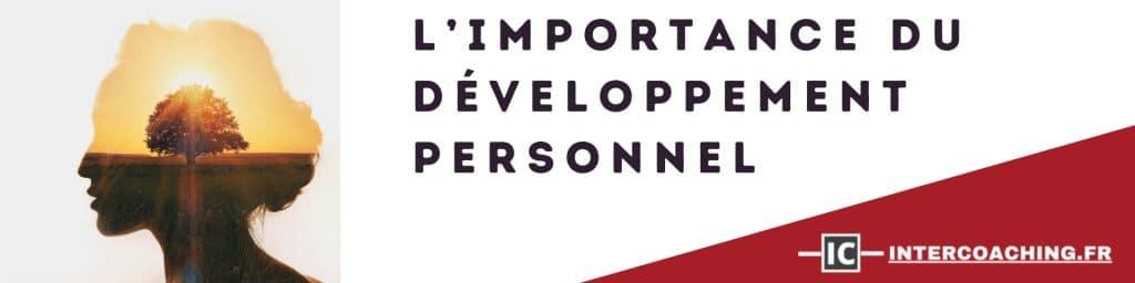 importance du développement personnel